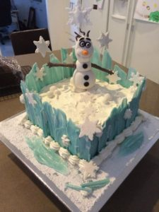 Frozen Birthday Cakes in Brisbane By Antonias Cakes