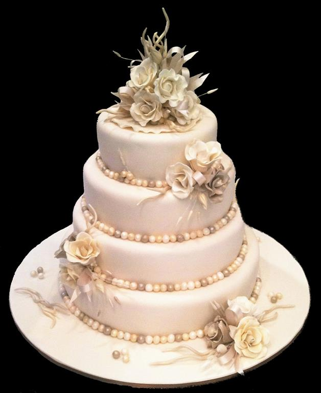 Wedding Decorations Gold Coast: Wedding Cakes - Antonia's Cakes
