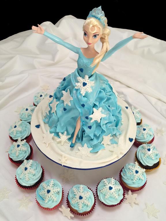 Elsa Birthday Cake Brisbane