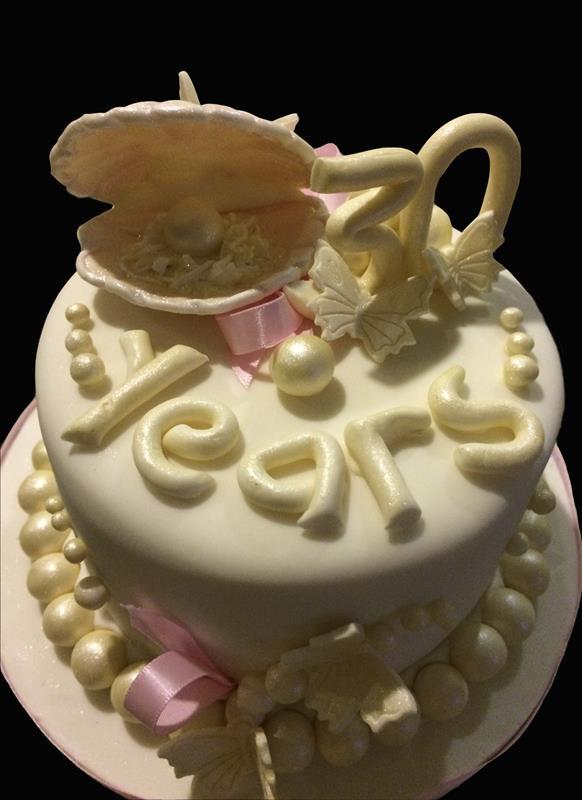 30 Year Anniversary Cake