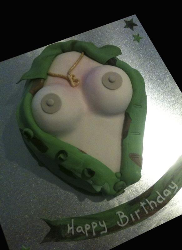 Boob Adult Cake SHOW IMAGE