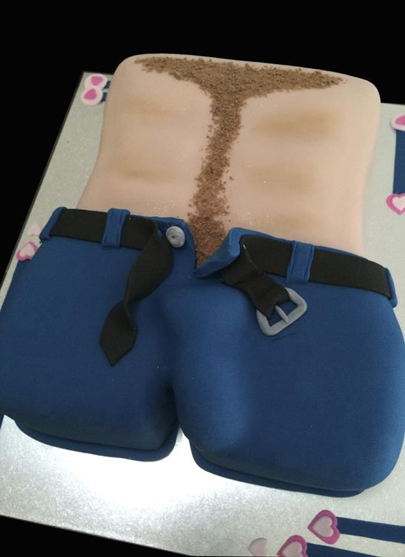 Stripper Adult Cake