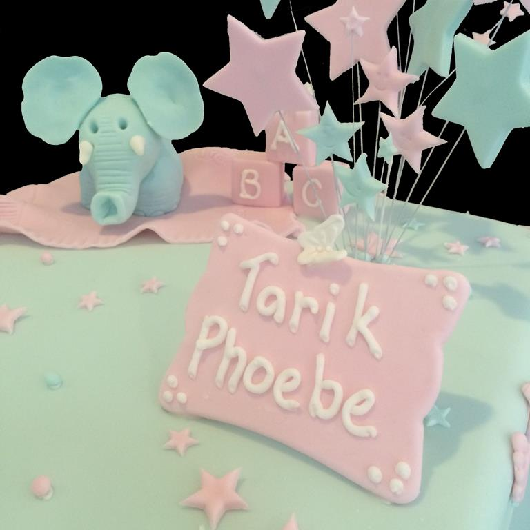 Baby Shower Name Cake