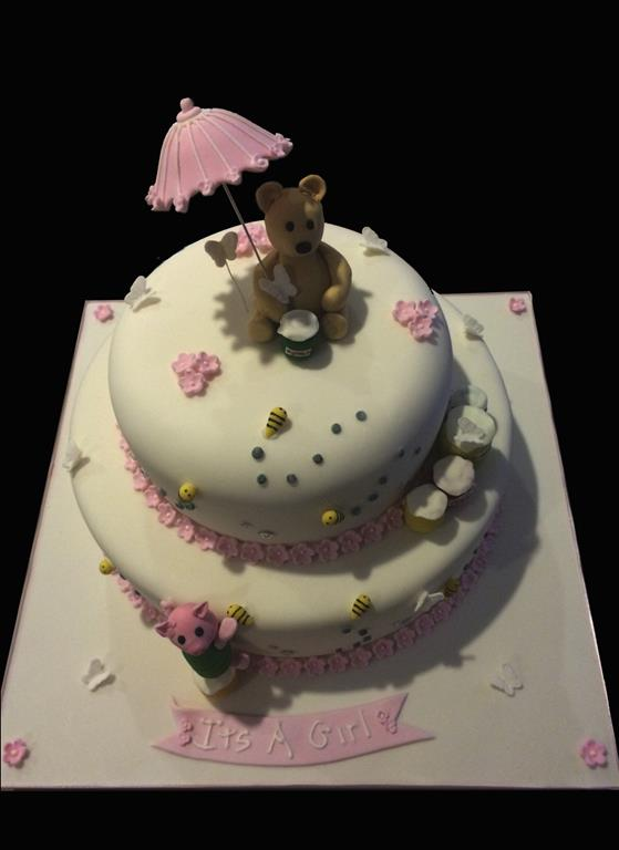 Cute Baby Shower Cake