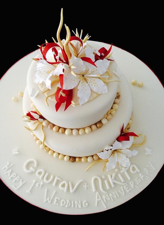 Ganash Anniversary Cake
