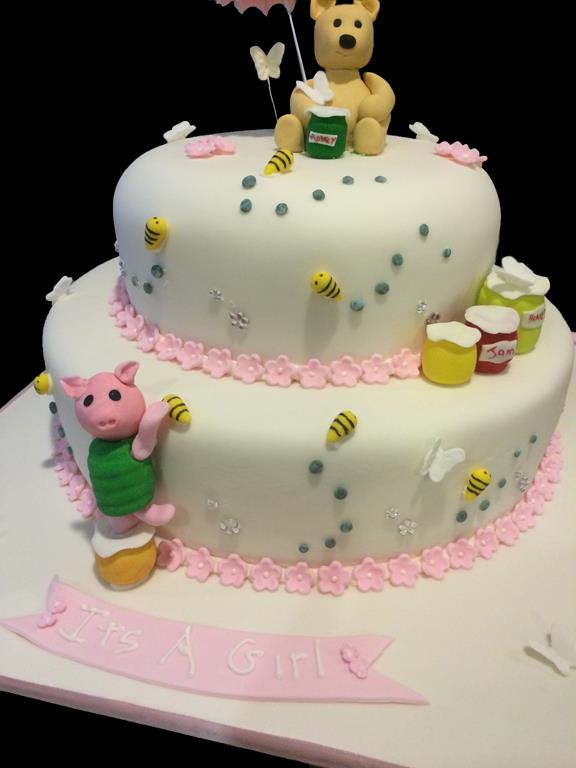 Girl Honey Bear Cake