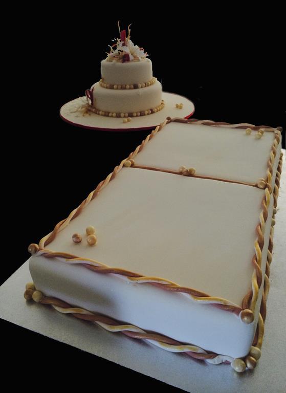 Large Anniversary Cake