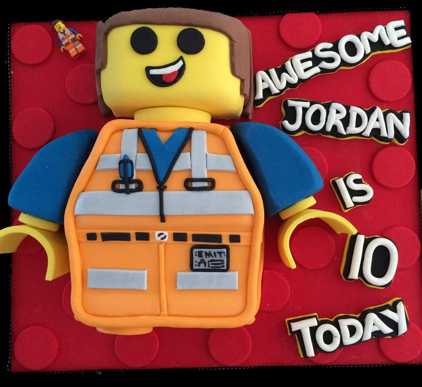 10th Birthday Lego Cake