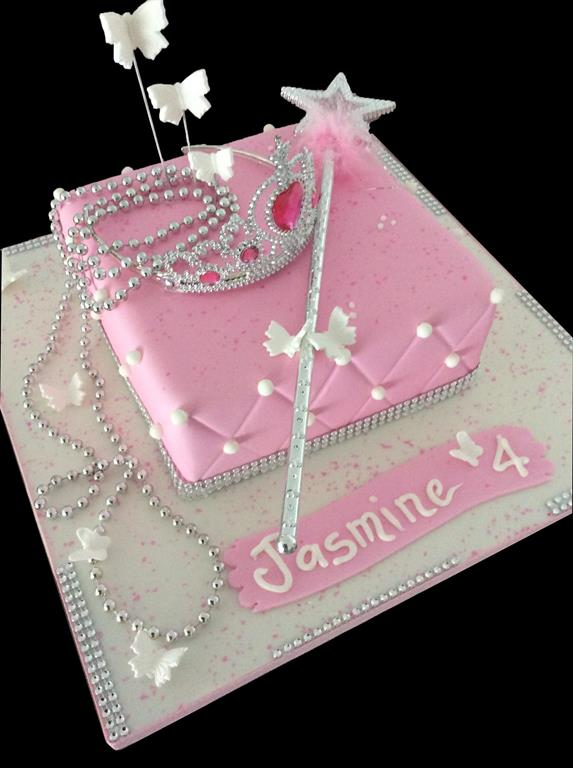 4th Childrens Birthday Cake Princess