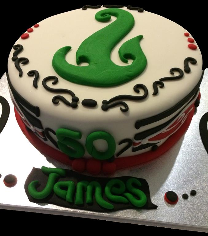 50th Boys Birthday Cake