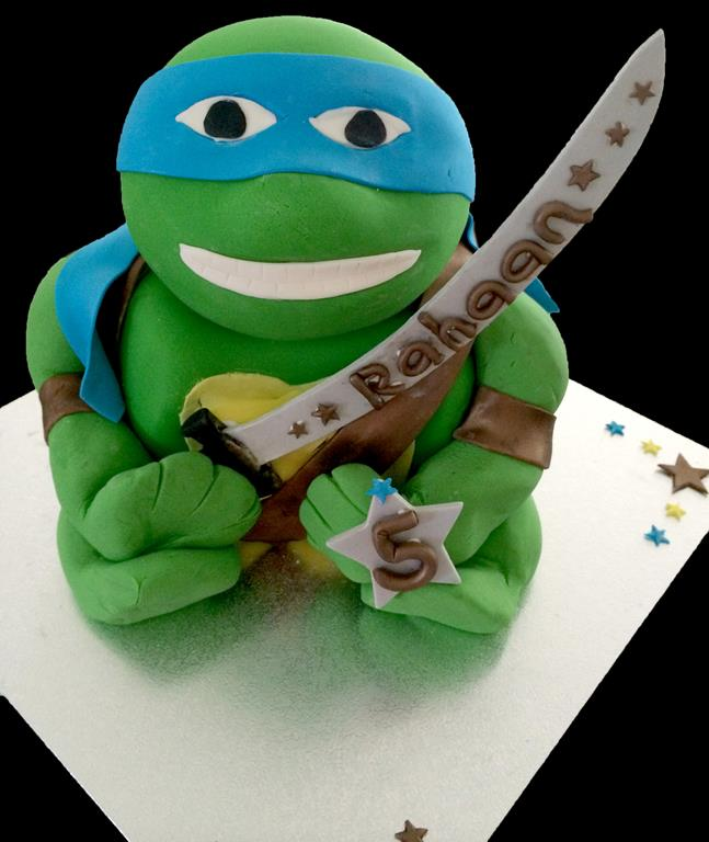 5th Nninja Turtle Childrens Birthday Cake