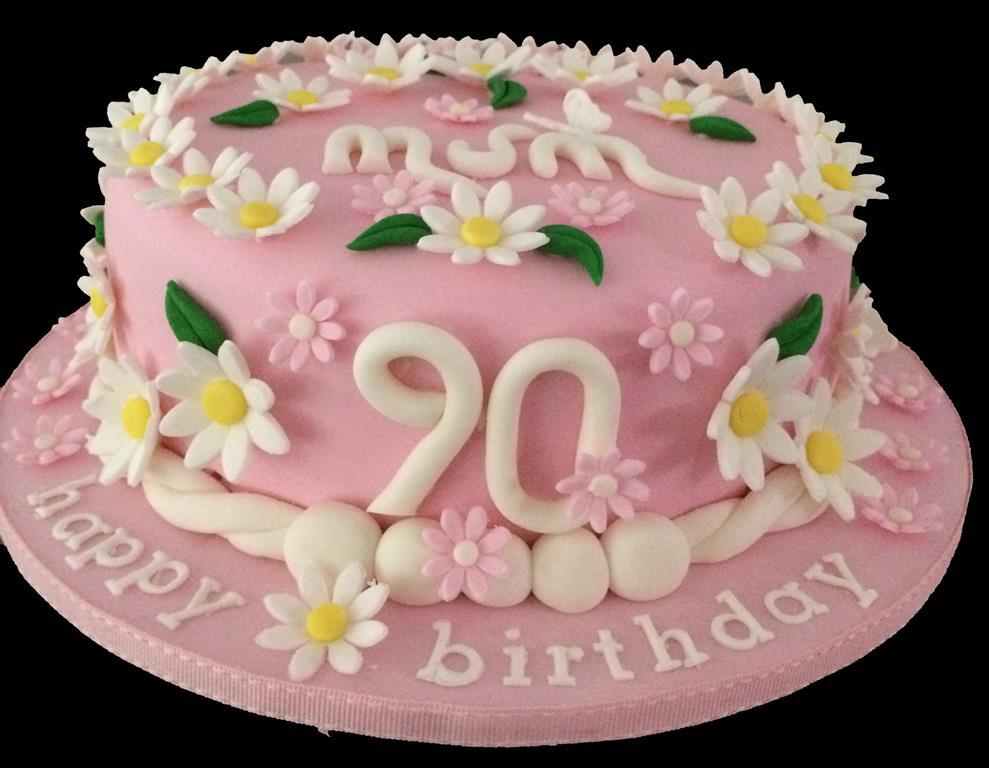 90th Birthday Cake for Mum