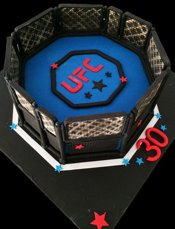 UFC Birthday Cake