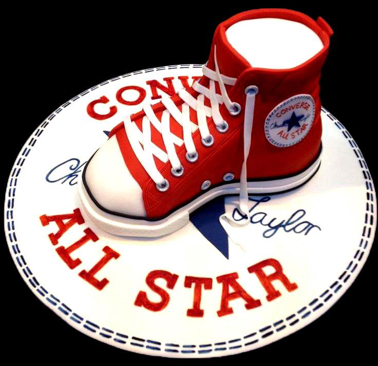 Superb All Star Converse Cake Antonias Cakes Wedding Birthday Funny Birthday Cards Online Bapapcheapnameinfo