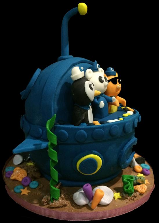 Aquanauts Childrens Birthday Cake