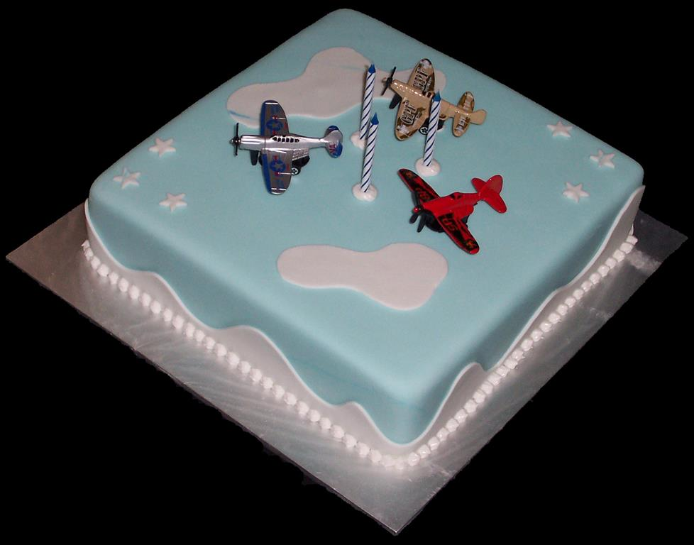 Areoplane Birthday Cake
