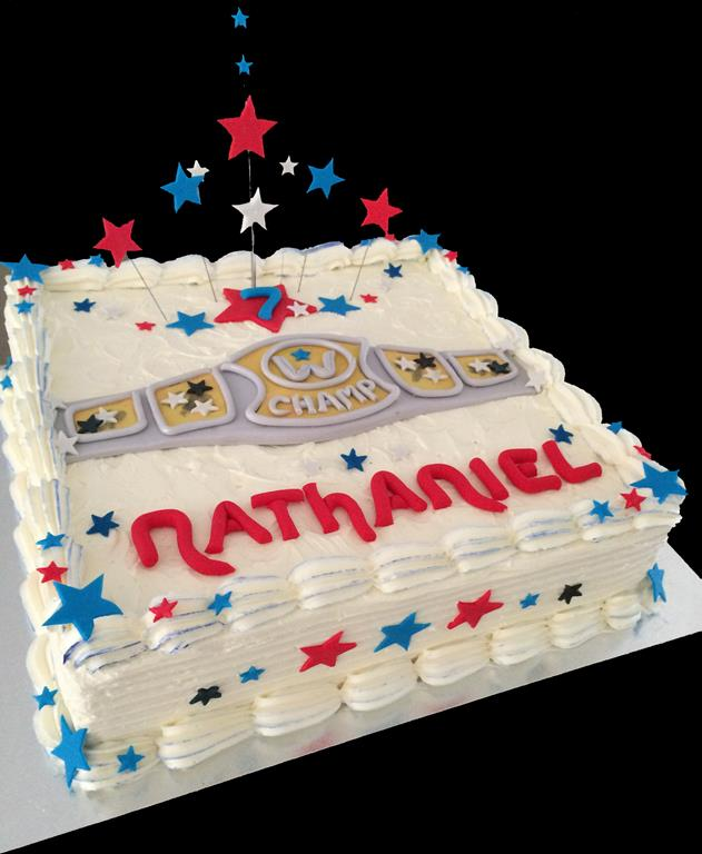 Champion Childrens Birthday Cake