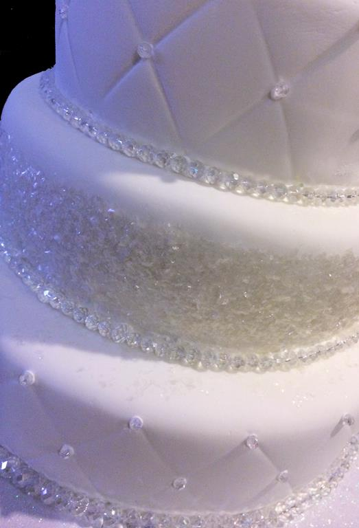 Crystal Decorations Cake