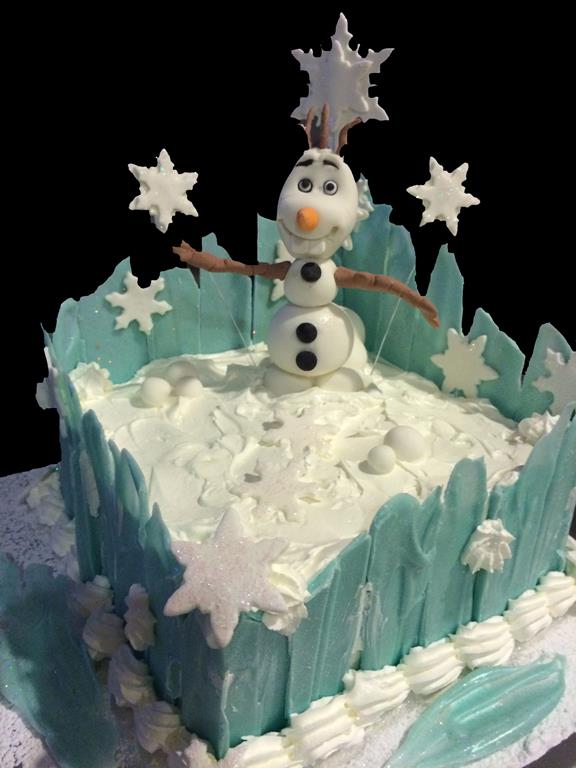 Frozen Oolaf Childrens Birthday Cake