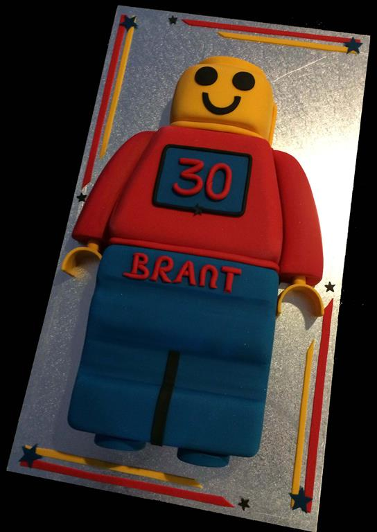 Lego Movie Childrens Birthday Cake