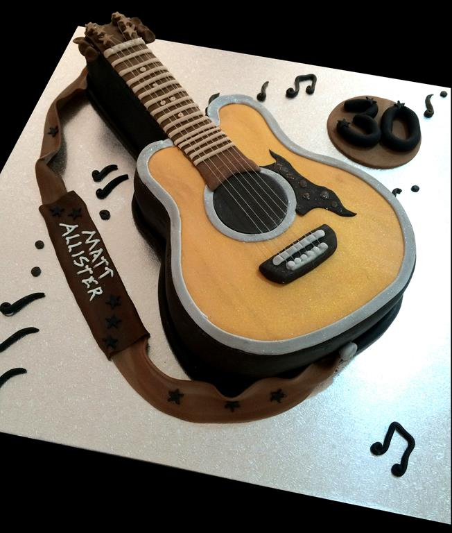 Guitar Cake Images With Name : Matt Birthday Cake - Antonia s Cakes Wedding Birthday ...