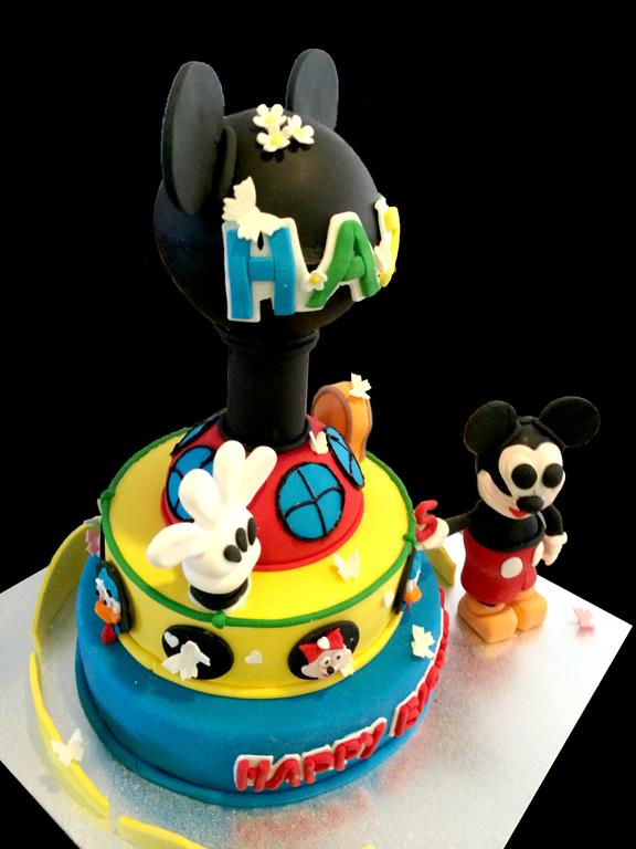Mikky Mouse Brisbane Birthday Cake