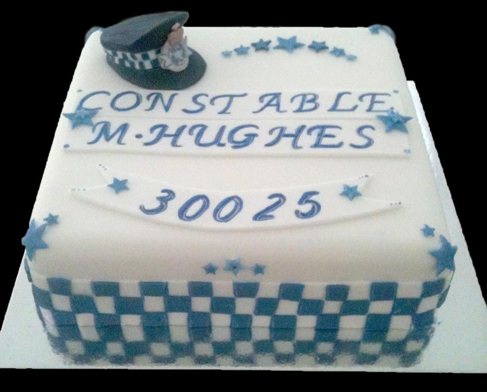 Police Constable Birthday Cake
