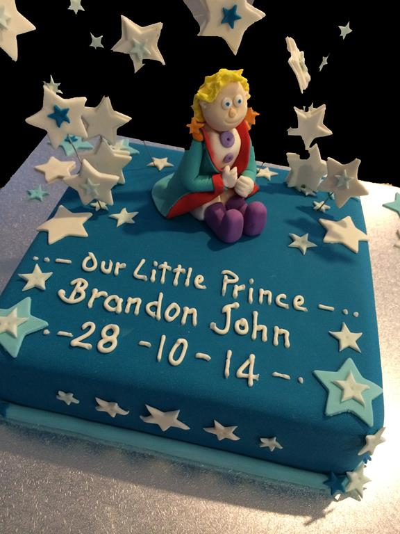 Prince Childrens Birthday Cake