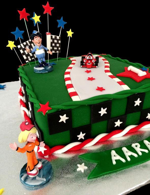 Childrens Car Birthday Cakes