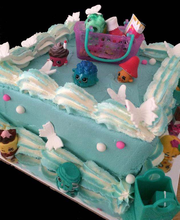 Shopkins Childrens Birthday Cake
