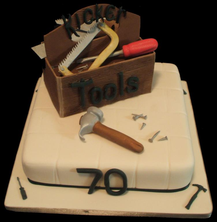 Toolbox 70th Birthday Cake