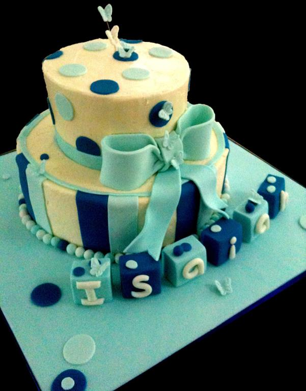 Two Tier Childrens Birthday Cake SHOW IMAGE