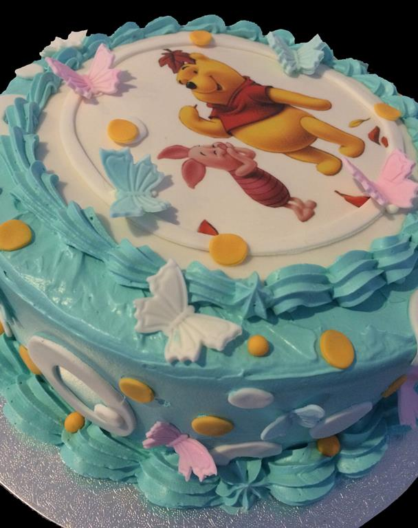 Winny the Pooh Childrens Birthday Cake