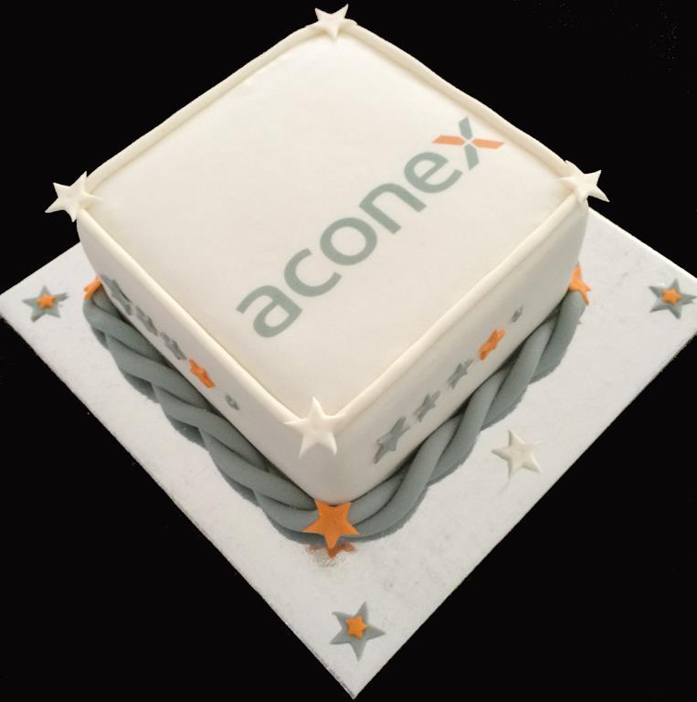 Brisbane Aconex Cake