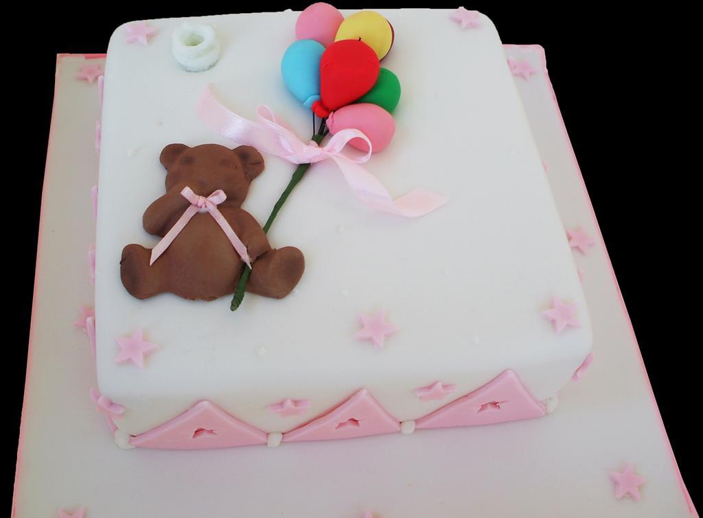 Cute Baby Christening Cake