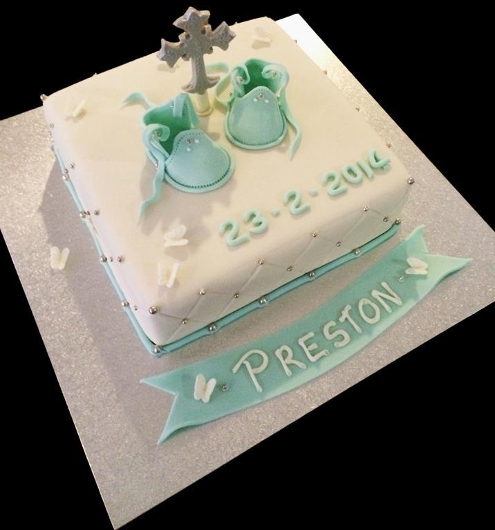Religious Christening Cake